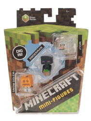 Набор фигурок Minecraft Mini Enderman set