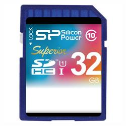 Карта памяти Silicon Power SP032GBSDHCU3V10 SDHC 32 Гб