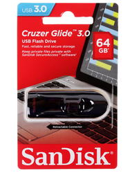 Память USB Flash SanDisk Cruzer Glide 64 Гб