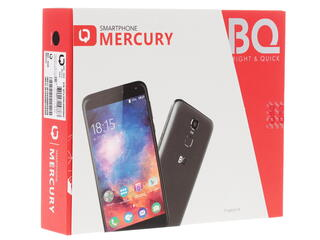 "5.5"" Смартфон bright & quick BQS-5520 Mercury 16 ГБ черный"