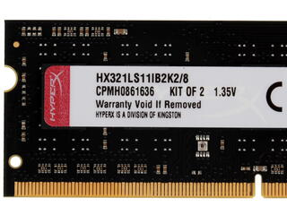 Оперативная память SODIMM Kingston HyperX Impact [HX321LS11IB2K2/8] 8 ГБ