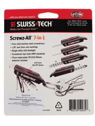 Мультитул Swiss+Tech Screwz-All 7-in-1