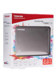 "2.5"" Внешний HDD Toshiba CANVIO Connect II [HDTC820EC3CA]"