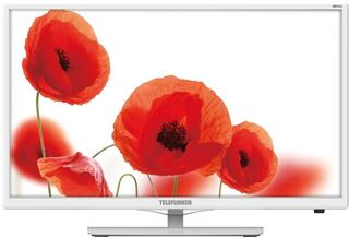 "23.6"" (59 см)  LED-телевизор Telefunken TF-LED24S38T2 белый"