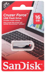 Память USB Flash SanDisk Cruzer CZ71 Force  16 Гб