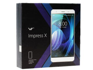 "5"" Смартфон Vertex Impress X 8 ГБ белый"