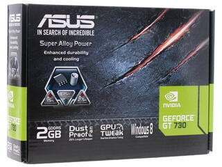 Видеокарта ASUS GeForce GT 730 [GT730-2GD5-BRK]