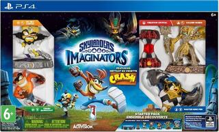 Игра для PS4 Skylanders Imaginators Crash Edition