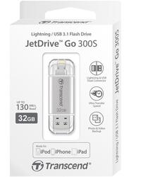 Память OTG USB Flash Transcend JetDrive Go 300  32 ГБ
