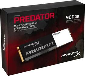 960 ГБ SSD M.2 накопитель Kingston HyperX Predator [SHPM2280P2/960G]