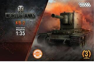 Модель танка World of Tanks - Танк КВ-2