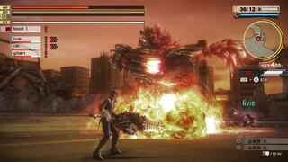 Игра для PS4 God Eater 2: Rage Burst