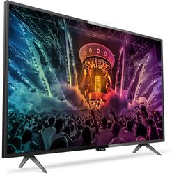 "49"" (124 см)  LED-телевизор Philips 49PUT6101 черный"
