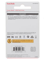 Память USB Flash SanDisk Cruzer Blade 64 Гб