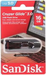Память USB Flash SanDisk Cruzer Glide 16 Гб