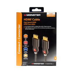 Кабель Monster Essentials High Performance HDMI - HDMI