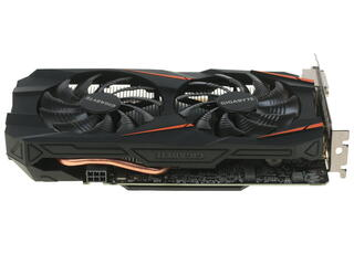 Видеокарта Gigabyte GeForce GTX 1060 WINDFORCE OC [GV-N1060WF2OC-6GD]