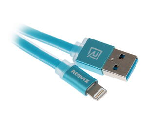 Кабель Remax Colourful  USB - Lightning 8-pin синий
