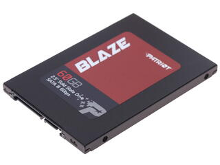 60 ГБ SSD-накопитель Patriot Blaze [PB60GS25SSDR]