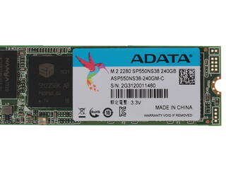 240 ГБ SSD M.2 накопитель AData Premier SP550 [ASP550NS38-240GM-C]