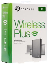 "2.5"" Внешний HDD Seagate Wireless Plus [STCK1000200]"