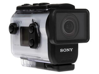 Экшн видеокамера Sony HDR-AS300R белый