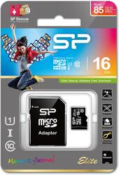 Карта памяти Silicon Power Elite microSDHC 16 Гб
