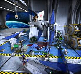 Игра для Wii U Star Fox Zero Limited Edition