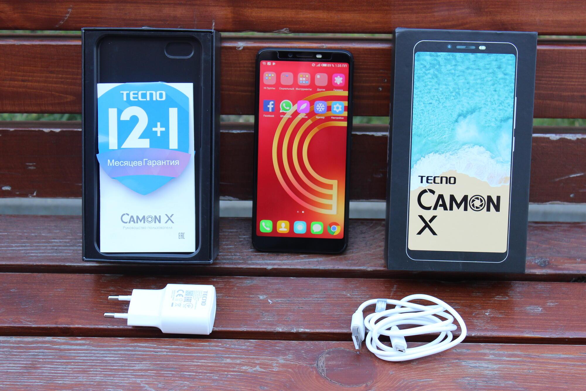 Smartfony i aksessuary - Tonkiy i moshcnyy smartfon TECNO CAMON X