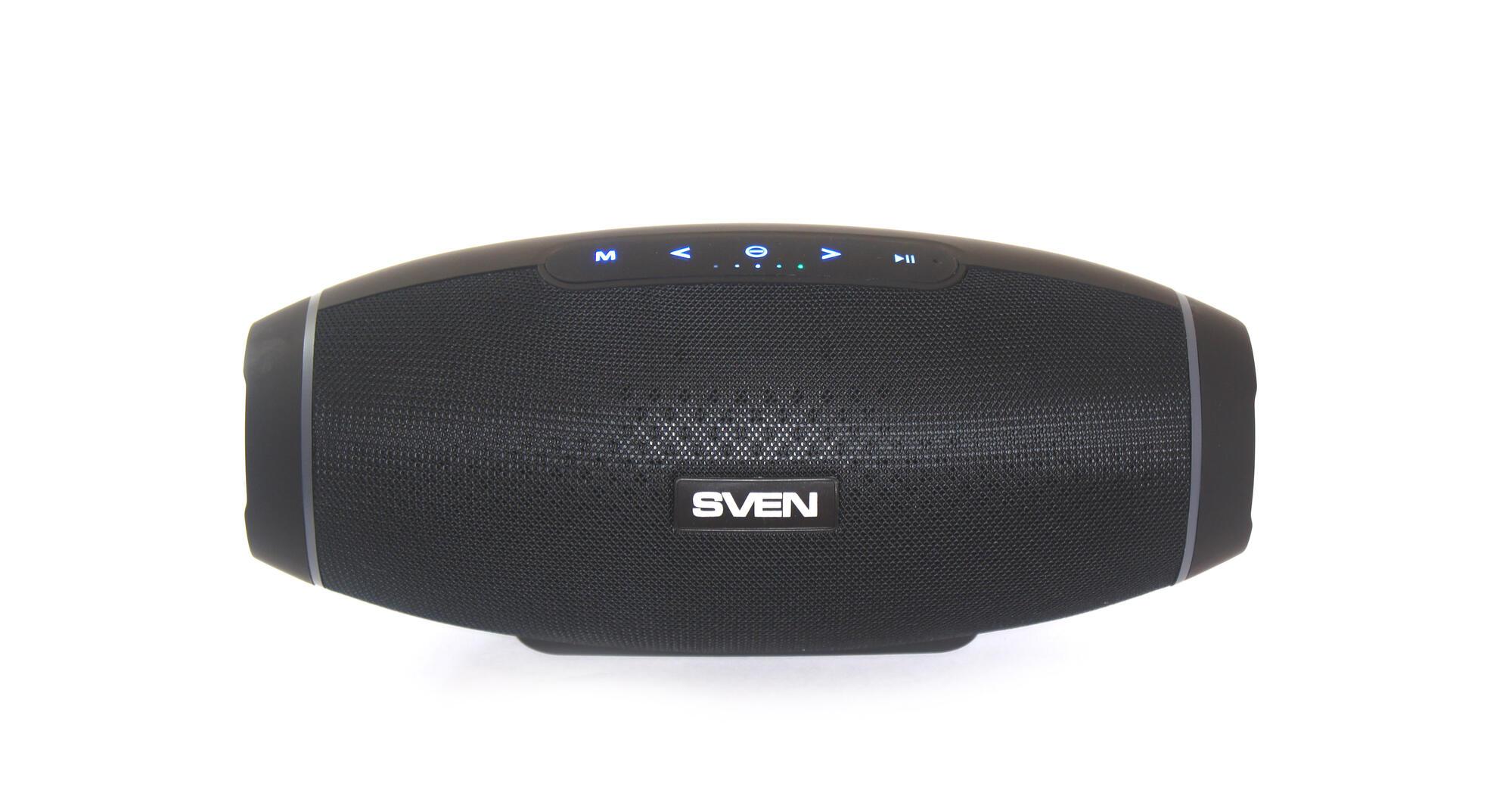 Video i Audio - Obzor portativnoy kolonki SVEN PS-330: sabvuferom zvuk ne isportish