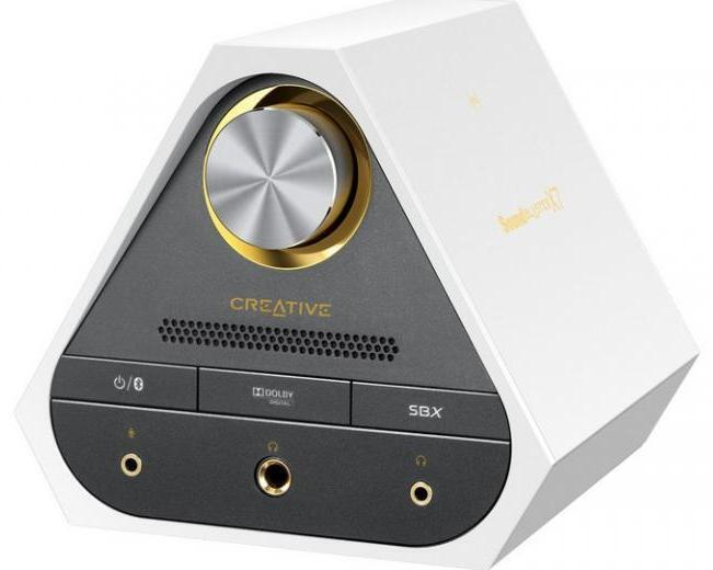 Звуковая карта USB Creative Sound Blaster X7 Limited Edition 70SB158000003