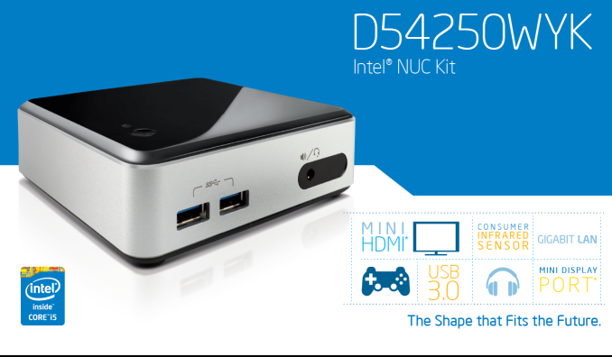Driver UPDATE: Intel D54250WYK NUC Kit Iflash