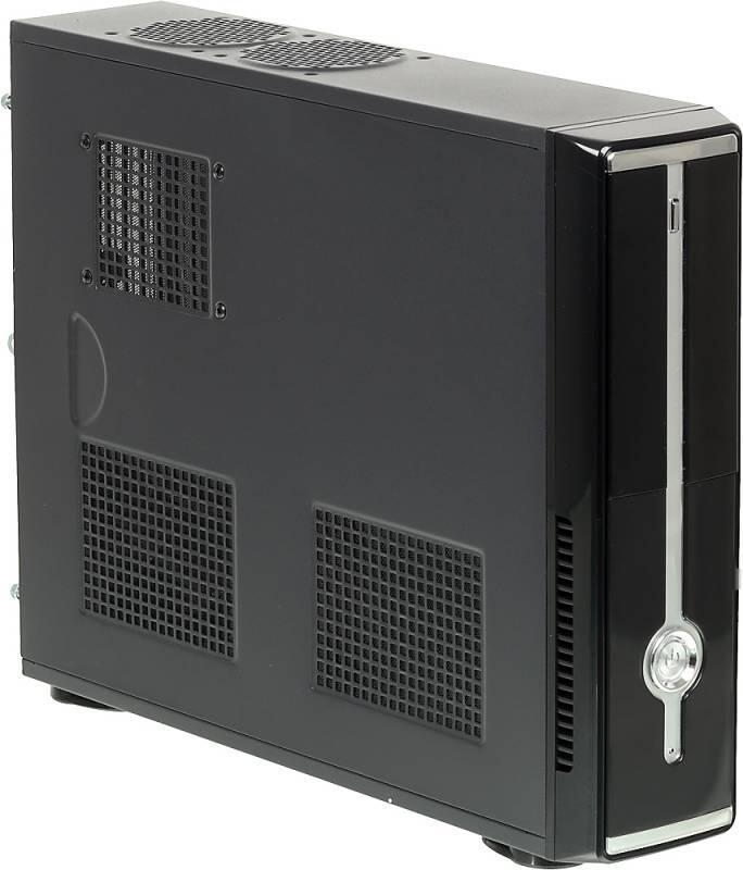 Корпус ATX Formula R-120D 350 Вт чёрный серый 308141