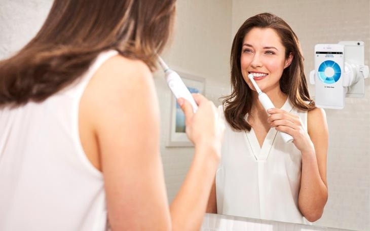 Электрическая зубная щетка круглая или овальная