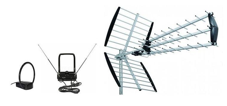 Комнатная антенна для телевизора    Комнатная антенна для телевизора