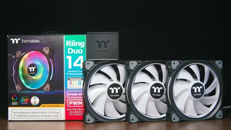 Обзор комплекта вентиляторов Thermaltake Riing 12 RGB