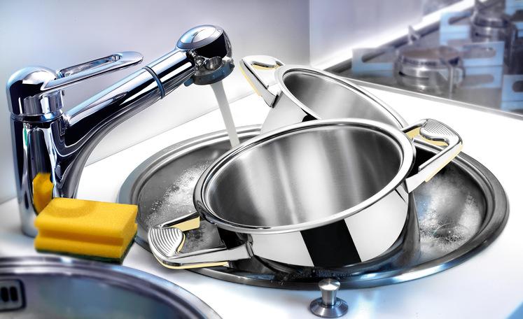 Как мыть пригоревшие кастрюли из нержавеющей стали в домашних условиях