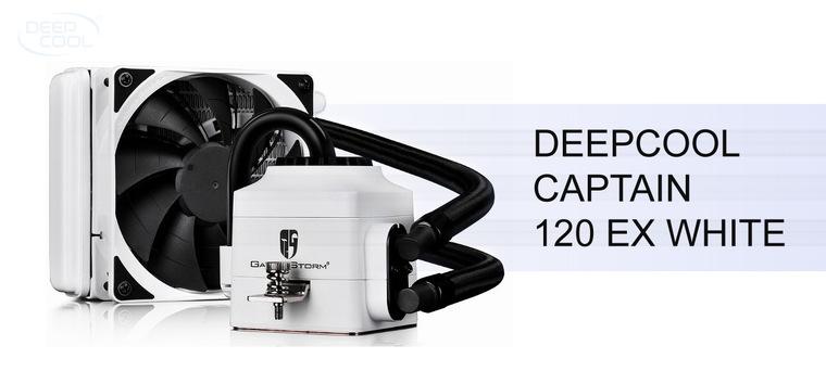 Обзор жидкостного охлажения Deepcool Captain 120 EX White