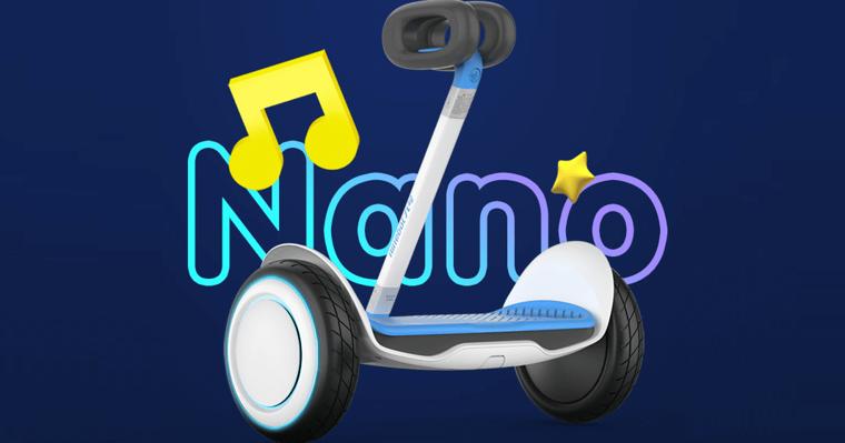 Xiaomi Eco-Chain выпускает детский Segway Ninebot Nano