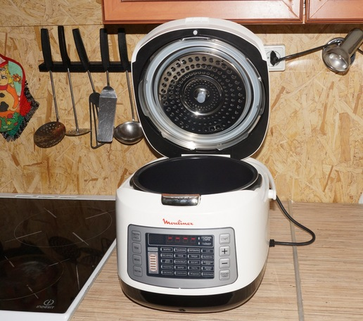 Купить Мультиварка-скороварка Moulinex CE430832 черный в интернет магазине DNS. Характеристики, цена Moulinex CE430832 | 8194498
