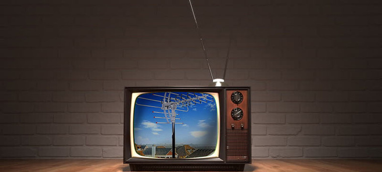 Как называется комнатная антенна
