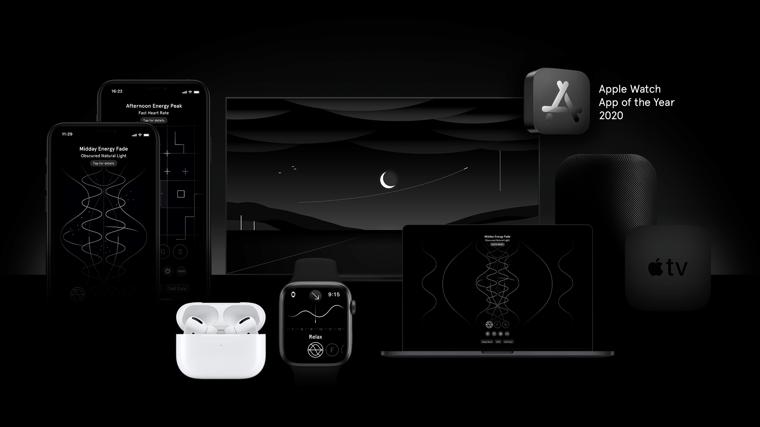 Endel был признан приложением года для Apple Watch в 2020 году