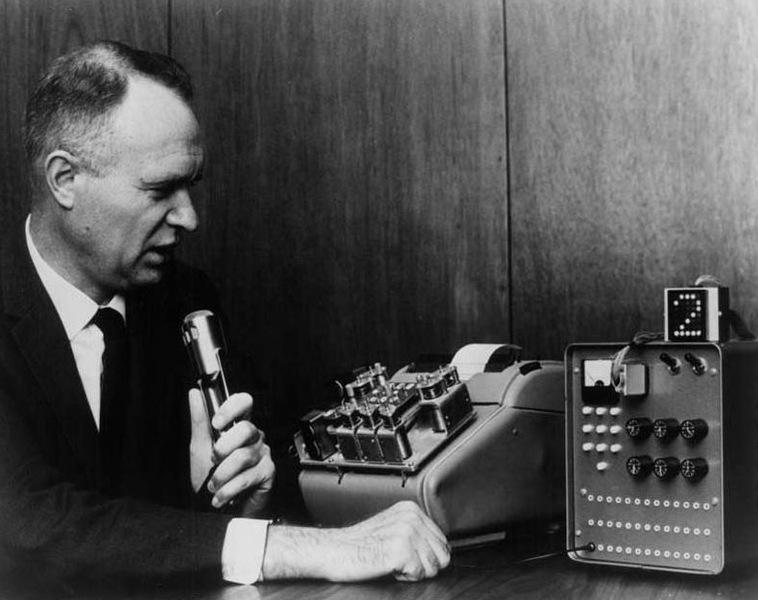 Одна из первых машин по распознаванию цифр