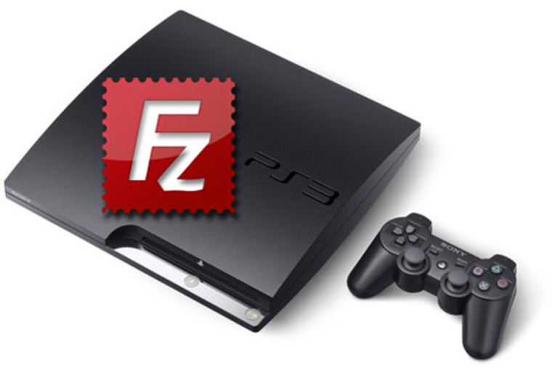 [PS3] Настройка FTP-клиента для обмена данными с PS3