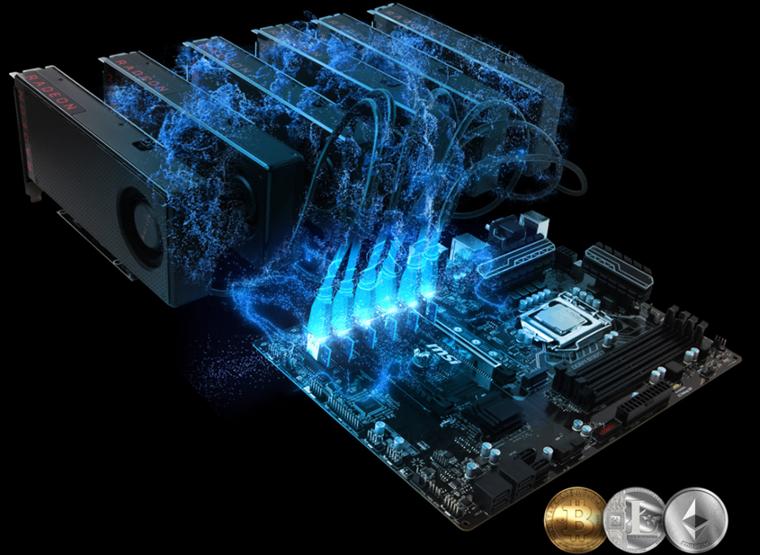 Материнские платы для майнинга на платформе Intel - попробуйте MSI серии 100 и 200