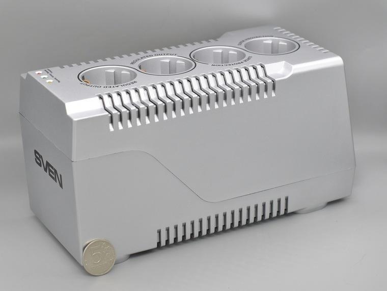Обзор стабилизатора напряжения SVEN VR-F1500