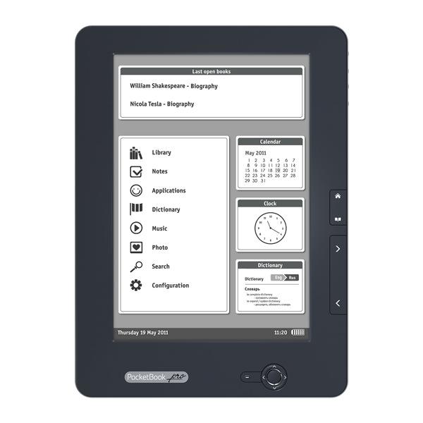 Обзор ридера PocketBook Pro 912 Education