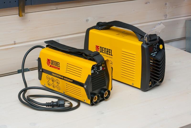 Instrumenty - Obzor svarochnyh apparatov Denzel MMA-ID i Denzel DS Compact