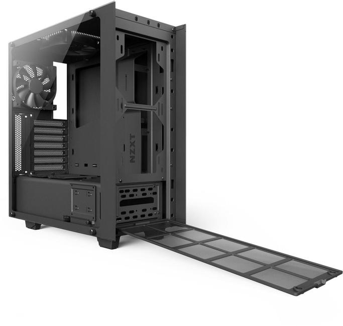 NZXT - S340 (Black/Red) ATX Mid Tower Case (CA-S340W-BR1 ...