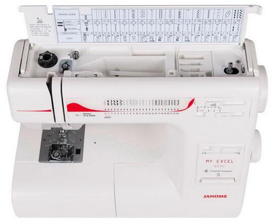 Швейная машина Janome W23U My Excel белый